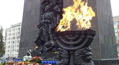 Photo of Monument / Landmark Pomnik Bohaterów Getta at Zamenhofa, Warszawa, Poland