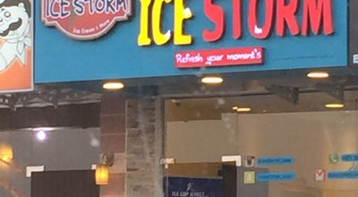 Photo of Ice Cream Shop ice storm at United Arab Emirates
