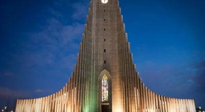 Photo of Church Hallgrímskirkja at Eiríksgata, Reykjavík 121, Iceland