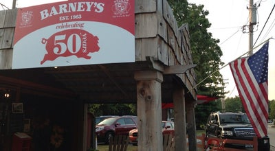 Photo of BBQ Joint Barney's Bar-B-Q at 16011 Manchester Rd, Ellisville, MO 63011, United States