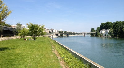 Photo of Garden Les Berges de Seine de Courbevoie at France