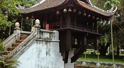 Photo of Temple Chùa Một Cột (One Pillar Pagoda) at Chùa Một Cột, Ba Đình, Vietnam