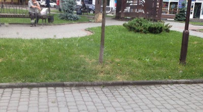 Photo of Outdoor Sculpture Пам'ятник першій українській церкві at Площа Ринок, Івано-Франківськ, Ukraine