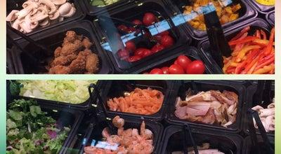 Photo of Salad Place My Mix salad bar at Мега Белая Дача, Котельники, Russia