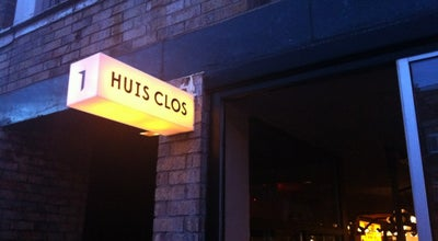 Photo of Bar Huis Clos at 7659 Rue Saint-denis, Montréal, QC H2R 2E7, Canada