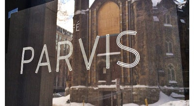 Photo of Cafe Café Parvis at 433, Rue Mayor, Montréal, Canada