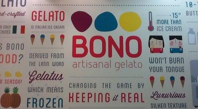 Photo of Ice Cream Shop Bono Artisanal Gelato at 2nd Flr, Sm Makati, Makati, Philippines