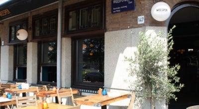 Photo of Cafe Weesper at Weesperzijde 144, Amsterdam 1091 ET, Netherlands