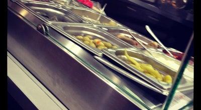 Photo of Falafel Restaurant alwadi libanesische spezialitäten at An Der Hauptwache 7, Frankfurt 60313, Germany