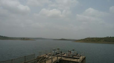 Photo of Lake Kaliyasout Dam at India