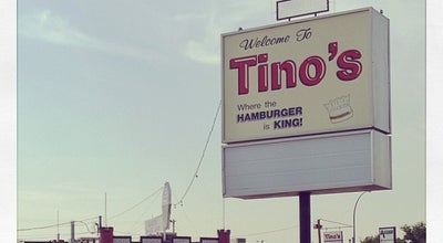 Photo of American Restaurant Tino's Drive-in at 860 14 St Sw, Medicine Hat, AB T1A 4W1, Canada