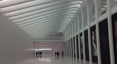 Photo of Mall World Trade Center West Concourse at 285 Fulton St, New York, NY 10007, United States