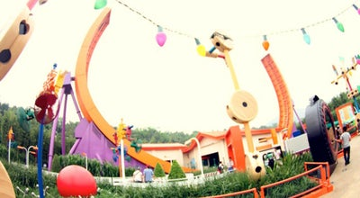 Photo of Theme Park Ride / Attraction RC Racer at Toy Story Land, Hong Kong Disneyland, Penny's Bay, Hong Kong