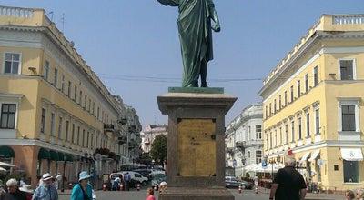 Photo of Monument / Landmark Дюк Де Ришелье / Duc de Richelieu at Ул. Екатерининская, Одесса, Ukraine
