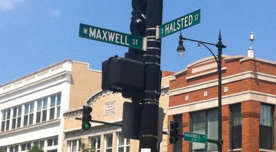 Photo of Historic Site Location of Historic Maxwell Street Market at Maxwell St & Halsted, Chicago, IL, United States