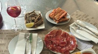 Photo of Tapas Restaurant ciudad condal tapas bar at Rambla De Catalunia, Barcelona, Spain