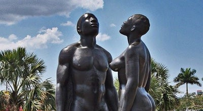 Photo of Park Emancipation Park at Knutsford Blvd., New Kingston, Jamaica