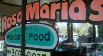 Photo of Mexican Restaurant Rosa Maria's at 1154 Brookside Ave, Redlands, CA 92373, United States