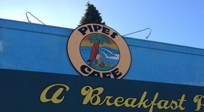Photo of Breakfast Spot Pipes Cafe at 123 Liverpool Dr, Cardiff by the Sea, CA 92007, United States