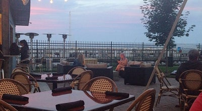 Photo of Beach Bar Terrace at Siver Place at 175 N Harbor Pl, Waukegan, IL 60085, United States