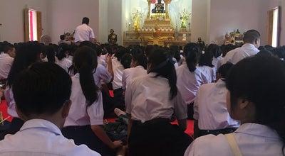 Photo of Buddhist Temple วัดมณีวนาราม (Wat Mani Wanaram) at Luang Rd., Nai Mueang, Mueang Ubon Ratchathani 34000, Thailand