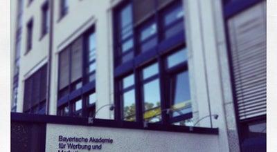Photo of College Communications Building BAW - Bayerische Akademie für Werbung und Marketing at Sonnenstr. 23, München 80331, Germany
