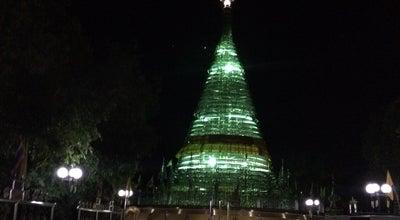 Photo of Temple มหาธาตุเจดีย์ไตรภพ ไตรมงคล at Created By @kritsanucha, Kho Hong 74000, Thailand