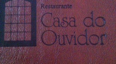 Photo of Brazilian Restaurant Restaurante Casa do Ouvidor at R. Direita, 42, Ouro Preto 35400-000, Brazil