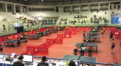 Photo of Basketball Court โรงยิม4000ที่นั่ง at สนามกีฬากลางจังหวัดนครสวรรค์, Wat Sai, Thailand