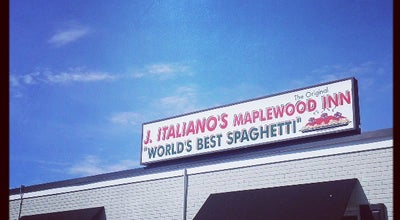 Photo of Italian Restaurant Joe Italiano's Maplewood Inn at 470 S White Horse Pike, Hammonton, NJ 08037, United States