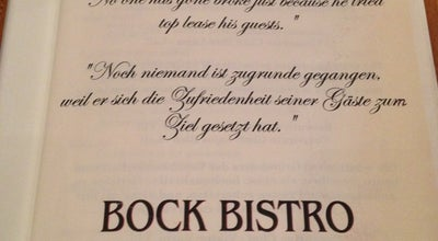 Photo of Restaurant Bock Bisztró at Erzsébet Krt. 43-49., Budapest 1073, Hungary