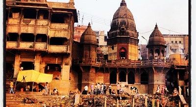 Photo of Spiritual Center Manikarnika Ghat - Burning Ghat at Manikarnika Ghat, Varanasi, India