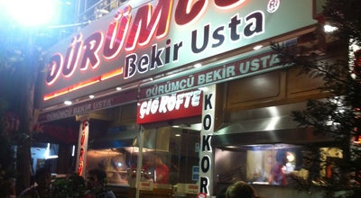 Photo of Kebab Restaurant Dürümcü Bekir Usta at Fatih Sultan Mehmet Blv. No:155, Nilüfer 16140, Turkey