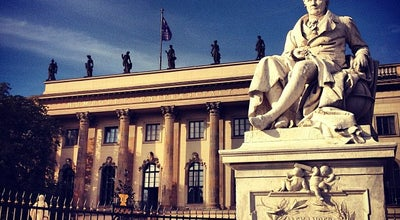 Photo of Tourist Attraction Humboldt University (Humboldt Universitat) at Berlin, Germany
