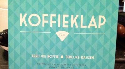 Photo of Coffee Shop Koffieklap at Klapdorp 41, Antwerpen 2000, Belgium