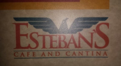 Photo of Mexican Restaurant Esteban's Cafe and Cantina at 402 W Main St, League City, TX 77573, United States