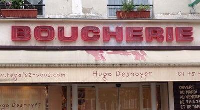 Photo of Steakhouse Hugo Desnoyer at 45 Rue Boulard, Paris 75015, France