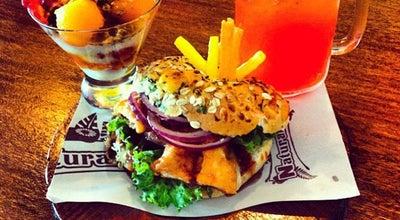 "Photo of Vegetarian / Vegan Restaurant Naturalito ""Bagels & Fresh Food"" at Campeche, Mexico"