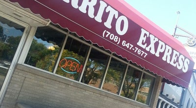 Photo of Mexican Restaurant Burrito Express at 17932 Dixie Hwy, Homewood, IL 60430, United States