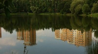 Photo of Lake Богдановский пруд at Ул. Красных Зорь, Москва, Russia