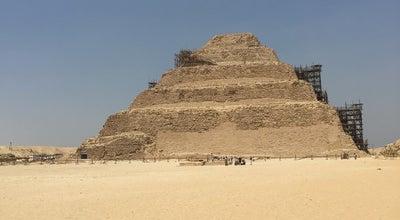 Photo of History Museum Saqqara Step Pyramid at Egypt