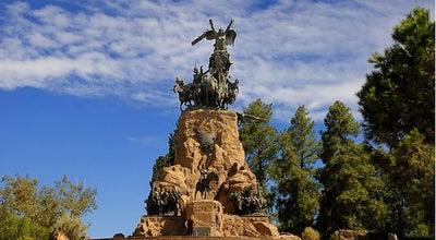 Photo of Monument / Landmark Cerro de La Gloria at Parque General San Martín, Mendoza 5500, Argentina