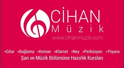 Photo of Music Venue Cihan Müzik Merkezi at Derme Sokak No:11 Kat:2, Malatya, Turkey