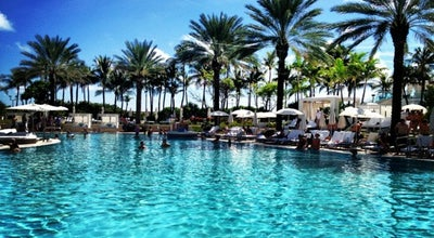 Photo of Hotel Pool Pool @ Fontainebleau at 4441 Collins Ave, Miami Beach, FL 33140, United States