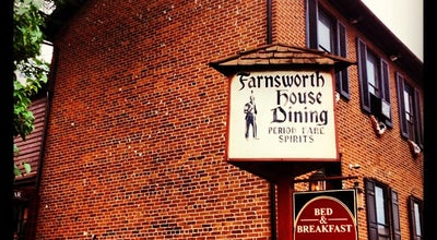 Photo of Diner Farnsworth House Inn at 401 Baltimore St, Gettysburg, PA 17325, United States