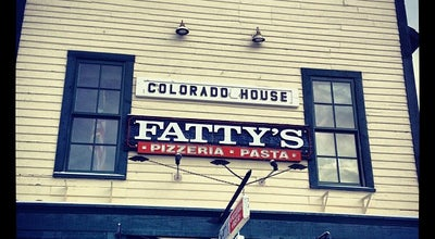 Photo of Pizza Place Fatty's Pizzeria at 106 S Ridge St., Breckenridge, CO 80424, United States