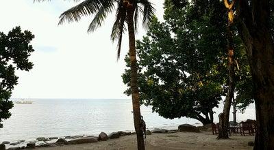 Photo of Beach Bukit Berahu, Belitung Island (Restaurant, Cottage, Swimming Pool, Sunset View) at Indonesia