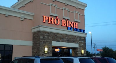 Photo of Ramen / Noodle House Pho Binh By Night at 12148 Bellaire Blvd #101, Houston, TX 77072, United States