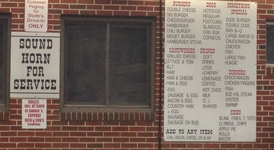 Photo of American Restaurant Dude's Drive-in at 1505 Roanoke St, Christiansburg, VA 24073, United States