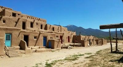 Photo of Monument / Landmark Taos Pueblo at Taos, NM 87571, United States